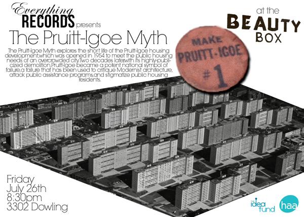 The Pruitt-Igoe Myth: Documental de Arquitectura