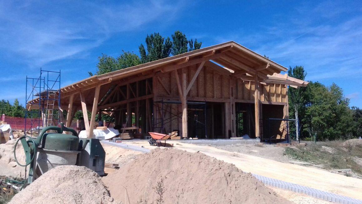construcción de una de nuestras casas baratas